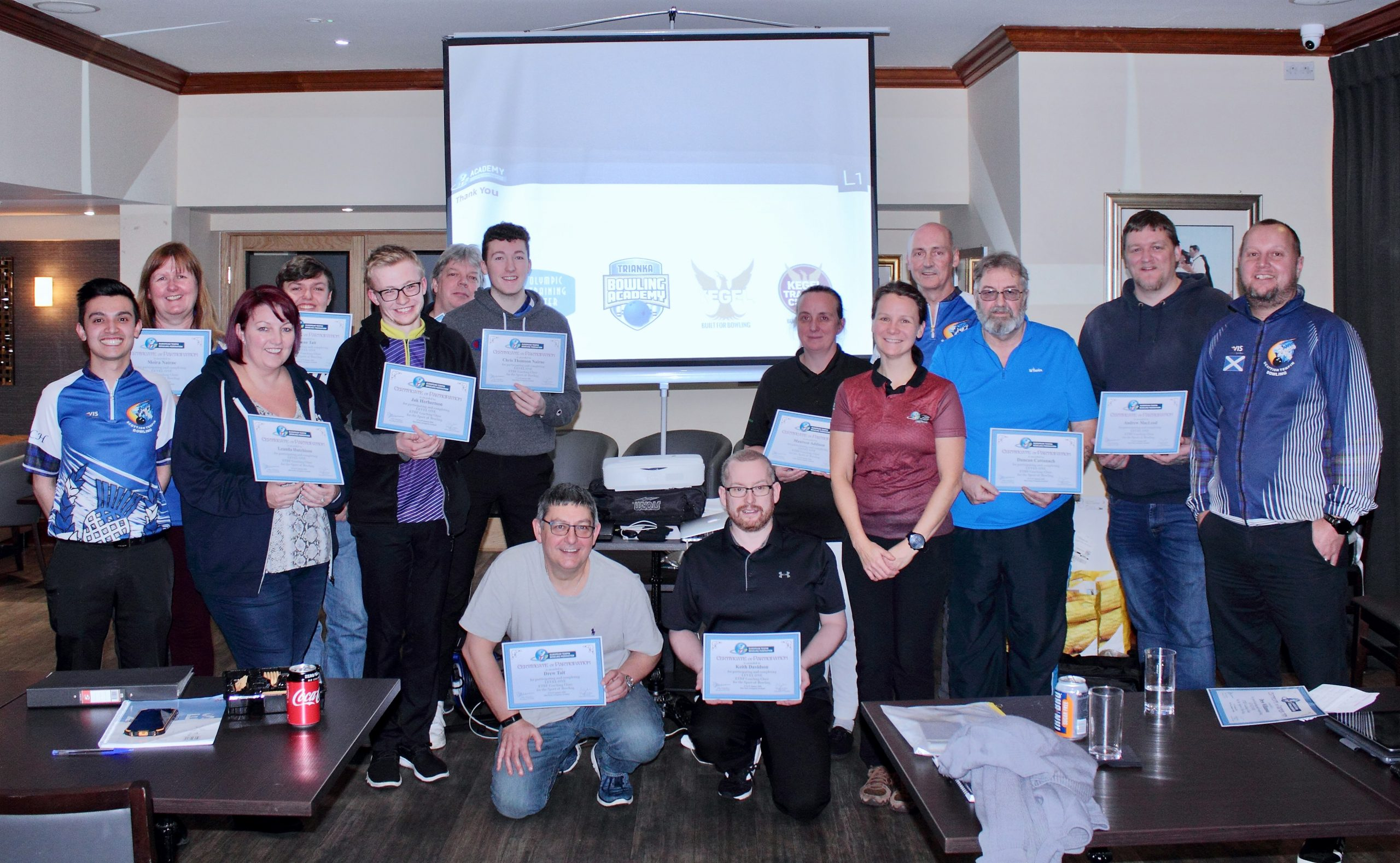 New STB ETBF Level 1 Participants